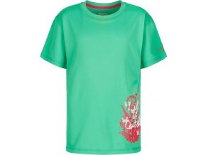 Dziewczęca koszulka Regatta RKT079 ALVARADO III zielona