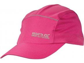 Unisex kšiltovka Regatta RUC028 EXTENDED růžová