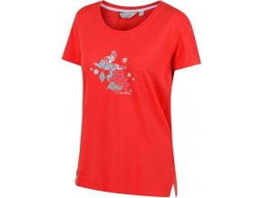 Koszulka damska Regatta Filandra II Czerwona
