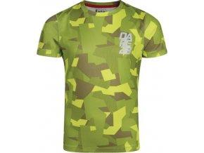 Chłopięca koszulka funkcjonalna DKT399 Dare2B EMINENCE TEE zielona