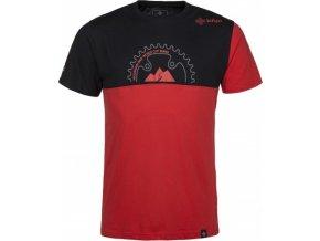 Męska koszulka bawełniana KILPI BIKEMAN-M czerwona