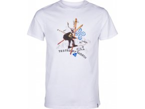 Męska koszulka KILPI APRES-M biała