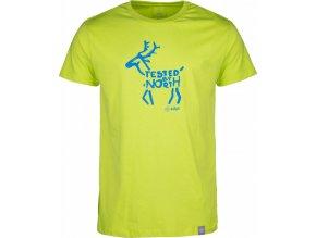 Męska koszulka KILPI DEER-M jasnozielona