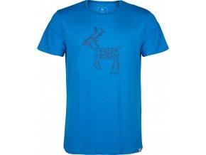 Męska koszulka KILPI DEER-M Niebieska 18
