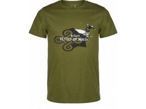 Męska koszulka KILPI MANIAC-M khaki