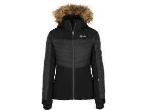 Damska kurtka narciarska KILPI BREDA-W czarna 19