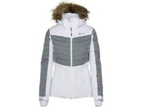 Damska kurtka narciarska KILPI BREDA-W biała 19