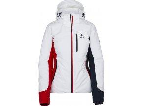 Damska dwuwarstwowa kurtka narciarska KILPI SYLVA-W biała 19
