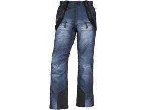 Męskie spodnie narciarskie KILPI DENIMO-M niebieskie 19