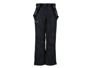 Dziewczęce spodnie narciarskie KILPI ELARE-JG czarne 19