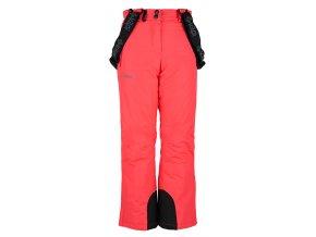 Dziewczęce spodnie narciarskie KILPI ELARE-JG różowe 19