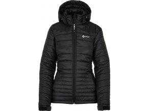 Damska pikowana kurtka zimowa KILPI GIRONA-W czarna 19