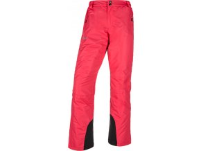 Spodnie narciarskie damskie KILPI GABONE-W Różowe 19