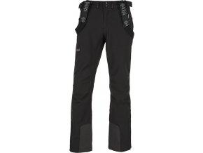 Męskie spodnie narciarskie softshellowe KILPI RHEA-M czarne 19