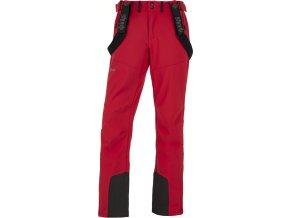 Męskie spodnie narciarskie softshellowe KILPI RHEA-M czerwone 19