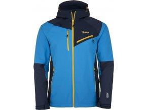 Męska softshellowa kurtka narciarska KILPI ZENITH-M niebieska 19