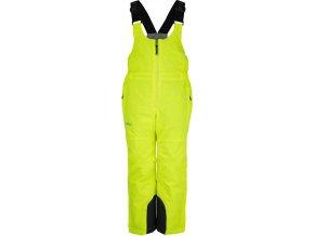 Chłopięce spodnie narciarskie KILPI CHARLIE-JB żółte 19