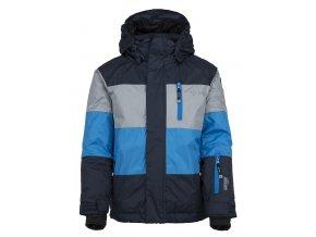 Chłopięca kurtka narciarska KILPI ORMES-JB niebieska 19