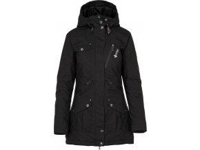 Damski płaszcz zimowy KILPI BRASIL-W czarny 19