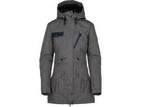Damski płaszcz zimowy KILPI BRASIL-W szary 19