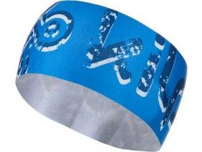 Unisex fleecová čelenka KILPI BANDI-U Modrá 19
