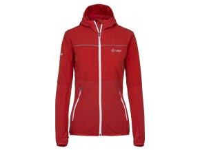 Damska kurtka outdoorowa KILPI JOSHUA-W czerwona 19