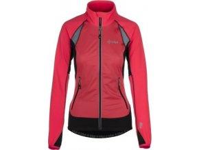 Damska, funkcjonalna kurtka stretchowa KILPI NORDIM-W różowa 19