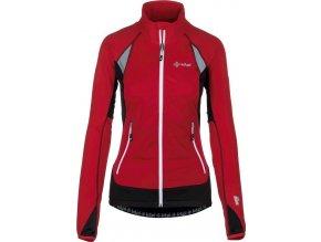 Damska, funkcjonalna kurtka stretchowa KILPI NORDIM-W czerwona 19