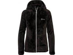 Damska ciepła bluza pluszowa KILPI ARLES-W czarna 19