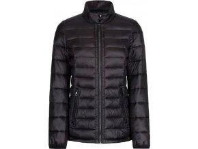 Damska pikowana kurtka RWN121 KALLIE czarna