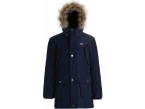 Chłopięcy płaszcz Regatta RKP186 PAYTON ciemnoniebieski
