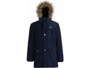 Chlapecký kabát Regatta RKP186 PAYTON Tmavě modrá