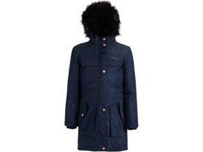 Dziewczęcy płaszcz Regatta RKP187 HALIMAH ciemnoniebieski