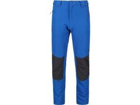 Męskie spodnie outdoorowe Regatta RMJ190R QUESTRA niebieskie