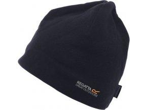 Męska czapka z polaru Regatta RMC044 KINGSDALE Czarny kolor