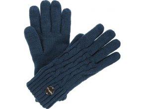 Damskie rękawiczki zimowe REGATTA RWG044 Multimix Glove II Niebieskie