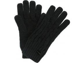 Damskie rękawiczki zimowe REGATTA RWG044 Multimix Glove II Czarne