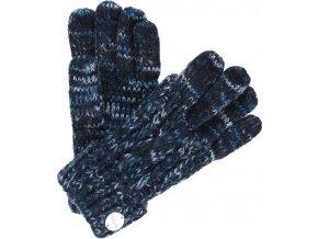 Rękawiczki damskie Regatta RWG039 FROSTY Granatowe