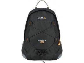 Czarny plecak turystyczny Regatta EU140 Survivor III 25l