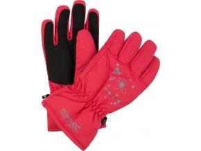 Dziecięce rękawice narciarskie RKG040 REGATTA Arlie II W/P Różowe