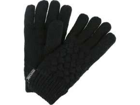 Dziewczęce rękawiczki Regatta RKG045 MERLE Czarne