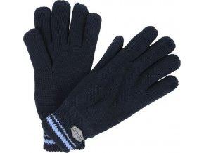 Męskie rękawice dzianinowe Regatta RMG018 BALTON Glove Granatowe