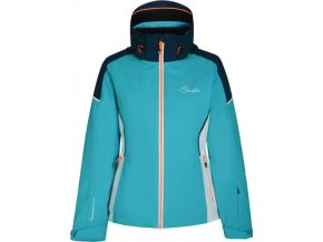 Damska kurtka narciarska DARE2B DWP385 CONTRIVE niebieska