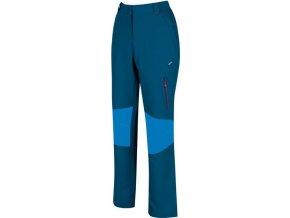 Damskie spodnie outdoorowe RWJ190R QUESTRA niebieskie