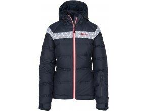 Damska kurtka narciarska KILPI SYNTHIA-W niebieska (DUŻY ROZMIAR)