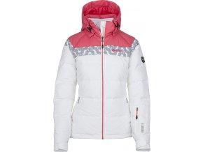 Damska kurtka narciarska KILPI SYNTHIA-W biała (DUŻY ROZMIAR)
