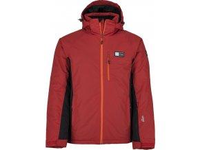 Męska kurtka narciarska KILPI CHIP-M czerwona (DUŻY ROZMIAR)