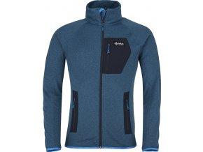 Męska bluza stretchowa KILPI ERIS-M niebieska (DUŻY ROZMIAR)