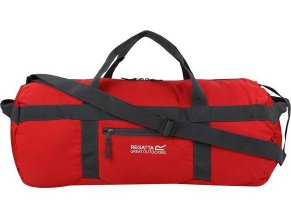 Czerwona torba unisex Regatta EU180 Packaway Duff 40L