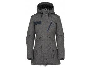 Damski płaszcz zimowy KILPI BRASIL-W szary